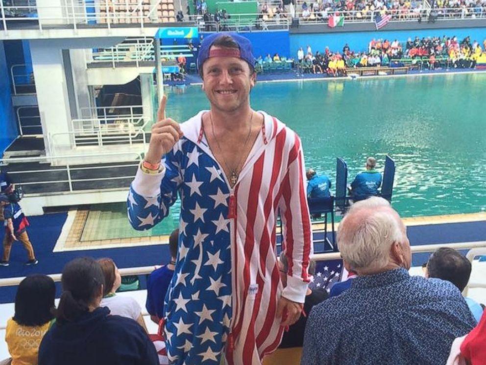 USA Superfan Brent Folan