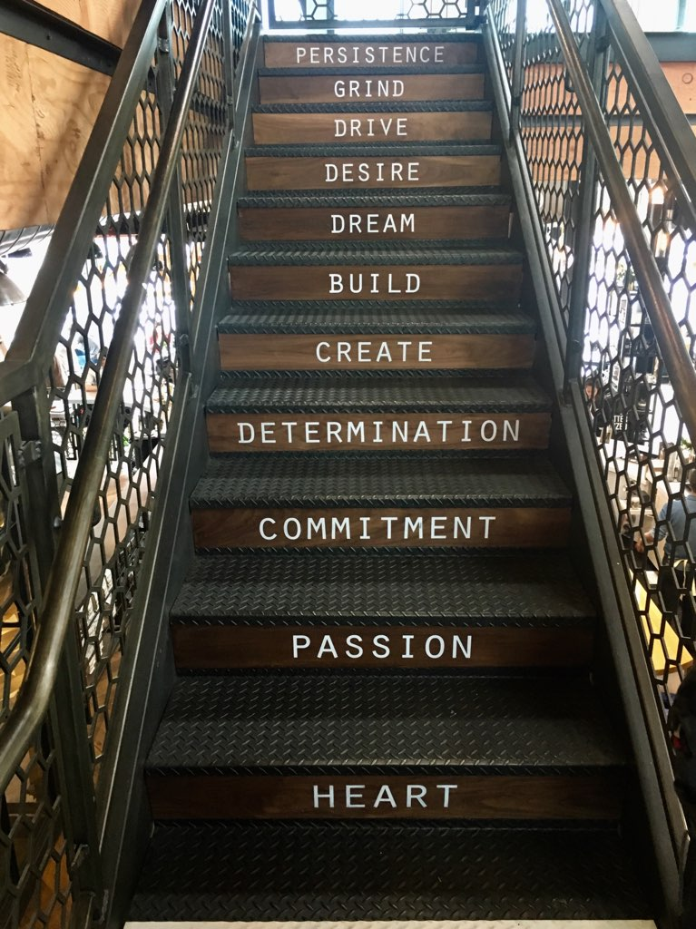 Stairway inspiration at Better Buzz