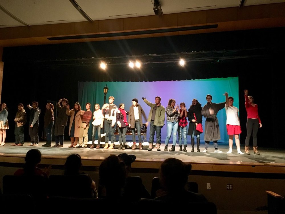 HS Theater performance