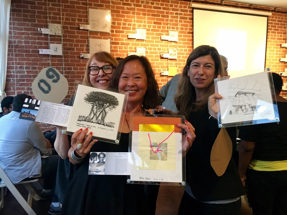 At NewSchool of Architecture Auction in 2017