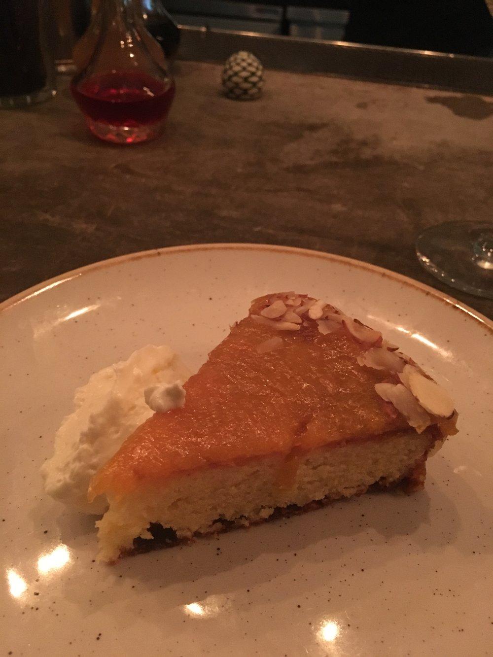Dessert - Cornmeal Almond Cake