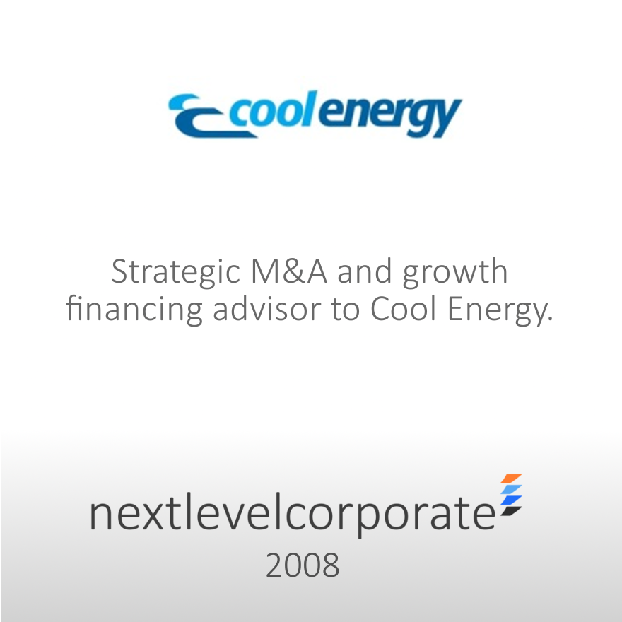 Integrated M&A, Growth Capital Advisory