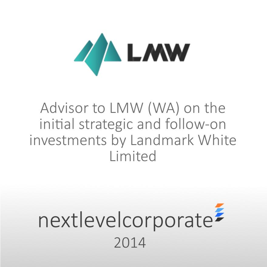 Strategic M&A Advisory