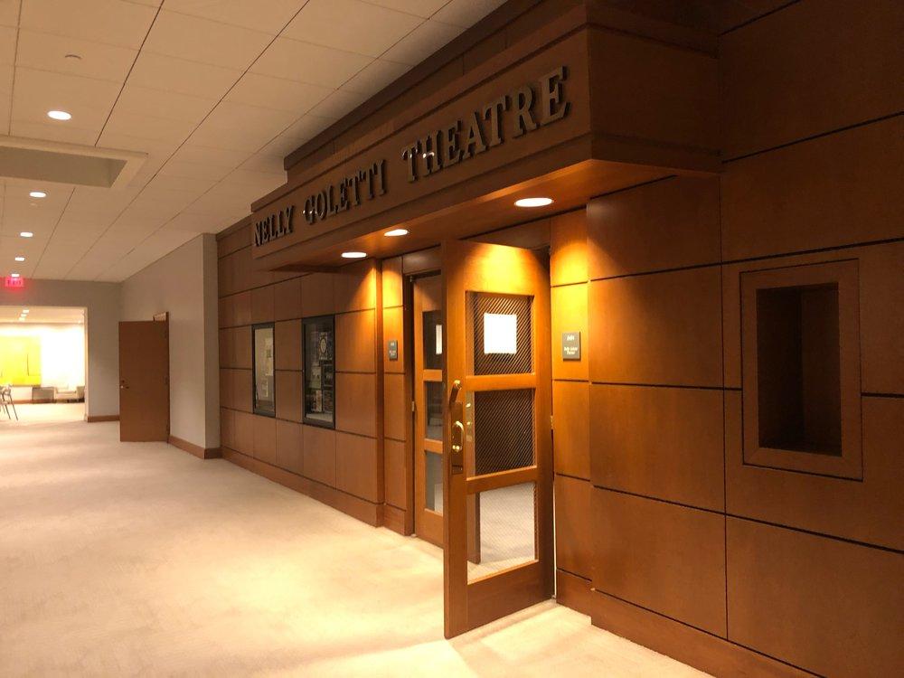 The Nelly Goletti Theatre.