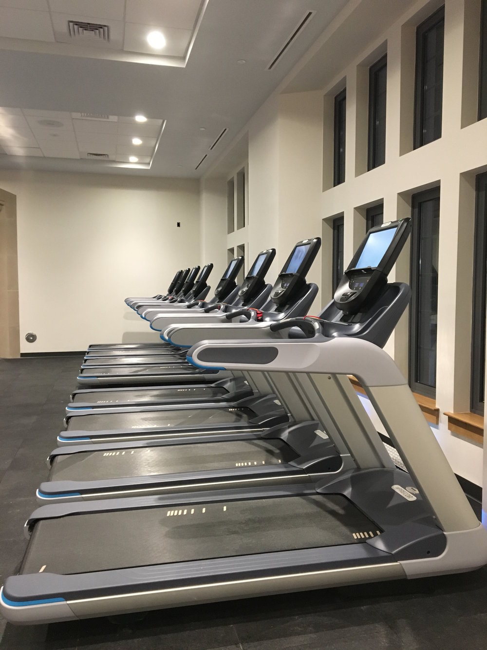 North Campus Fitness Facility.