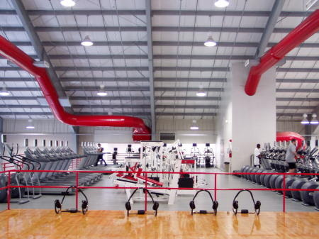 Current McCann Center cardio room. (Photo courtesy of  Marist College Strength)