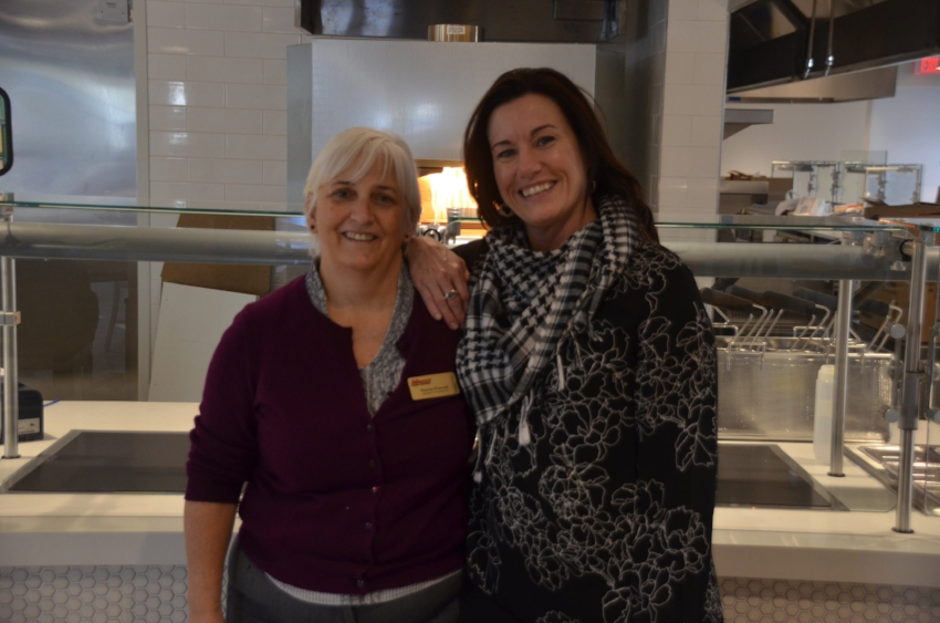 Colene Doughty (right) pictured with Donna Provost, Director of Operations (left)