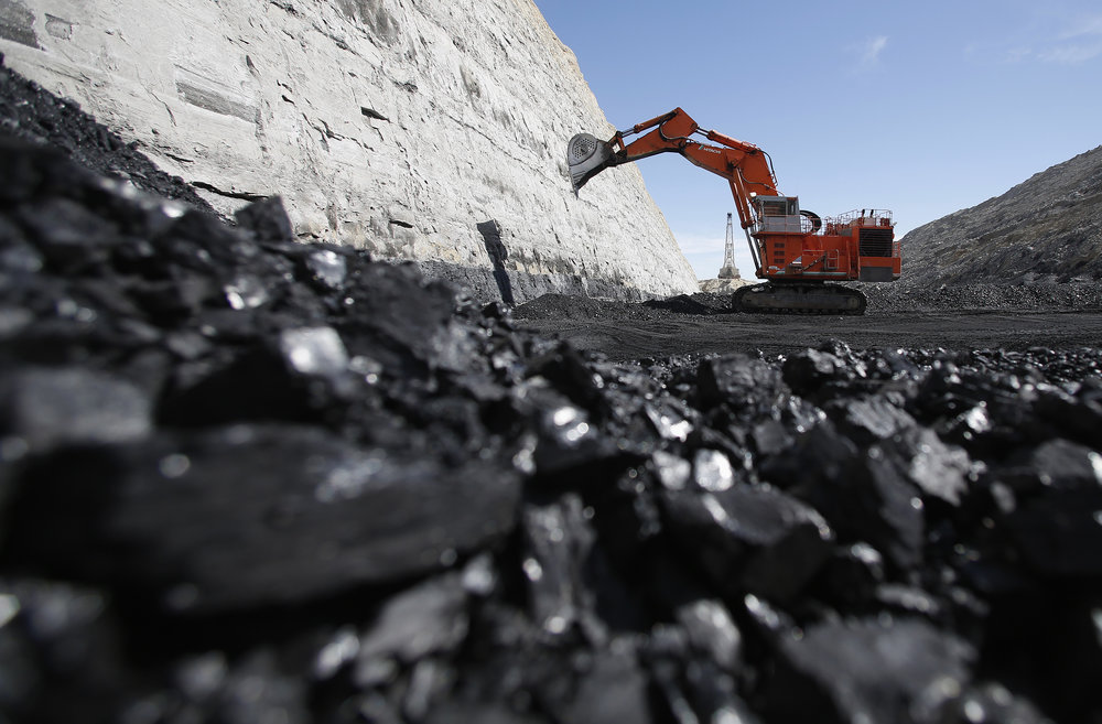 Coal mining -  Photo courtesy of Brookings