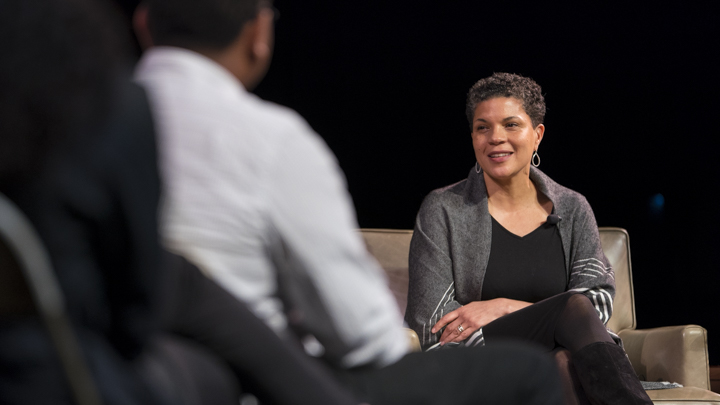 Michelle Alexander.  Photo courtesy of Marist College.