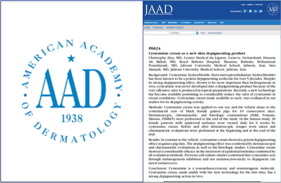 by Hsu et al, 2013. Journal of the Amercian Academy of Dermatology -