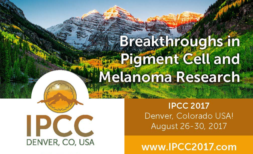 IPCC 2017, the 23rd International Pigment Cell Conference, August 26-30, 2017 in Denver Colorado -