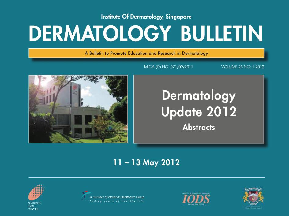 NSC Dermatology Singapore 2012 -