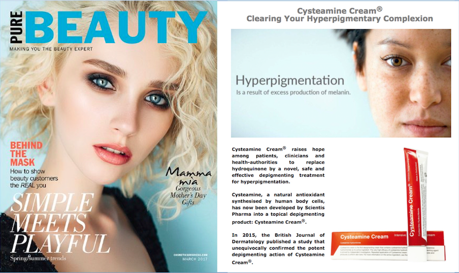 Cysteamine Cream® - Get rid of hyperpigmentation and reclaim your confidenceClick here to order