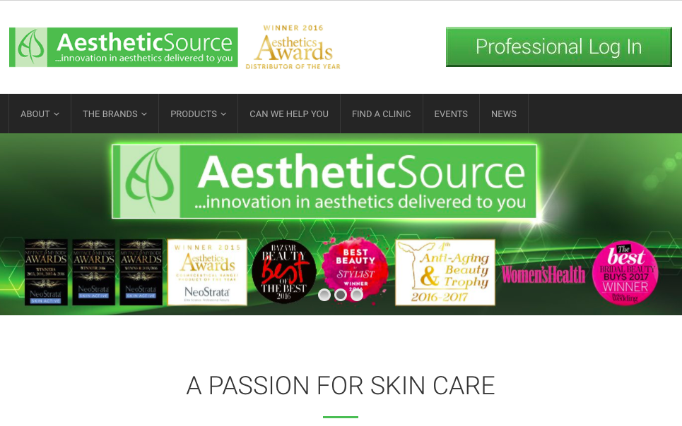 Aesthetic Source distribute Cysteamine in the UK and Ireland -