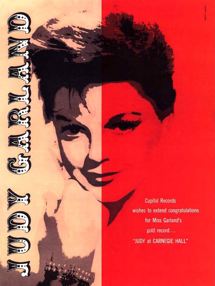 Judy Garland by Sandy Dvore