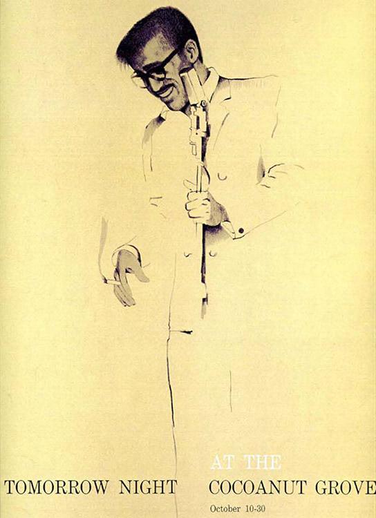 Sammy Davis Jr. by Sandy Dvore
