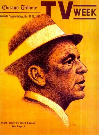 Frank Sinatra by Sandy Dvore