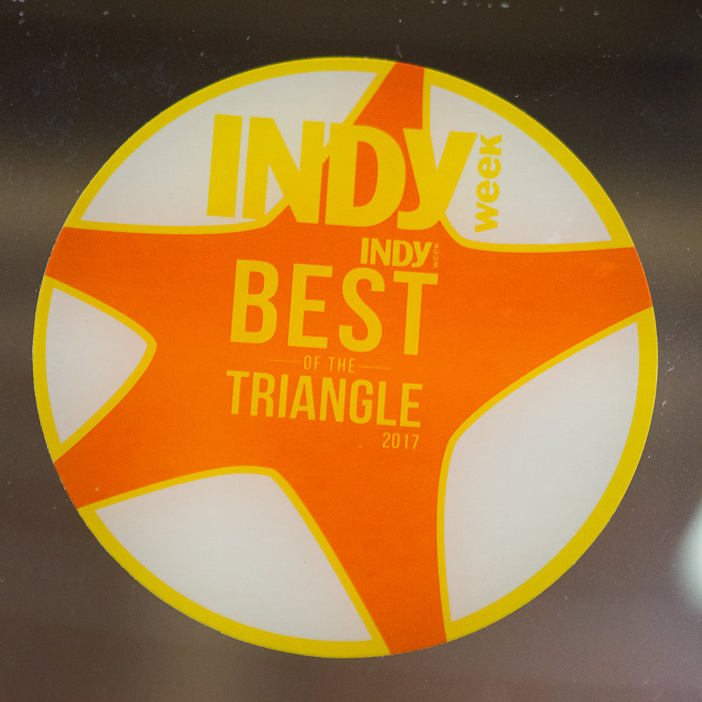 Voted Best of the Triangle! - Year after year. . .the mutual love-fest grows. Customers are celebrated at Ali Cat, and Ali Cat is celebrated by our customers!