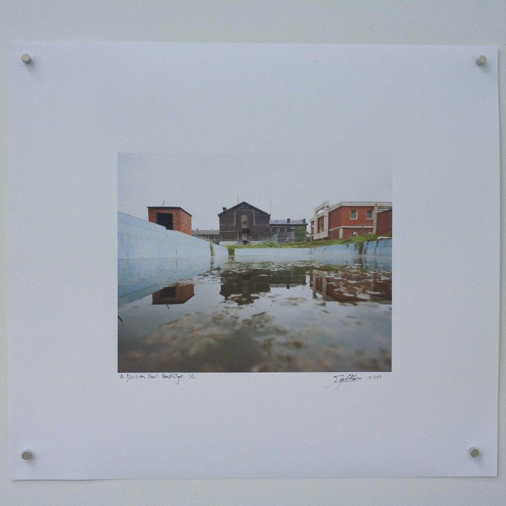 A Division Pool Pentridge By Rupert Mann 8X10 inches. 220 AUD.