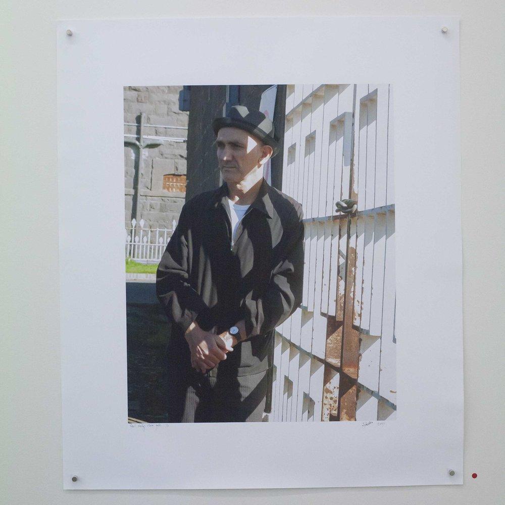 Paul Kelly by Main Gate Pentridge. Rupert Mann Print.jpg