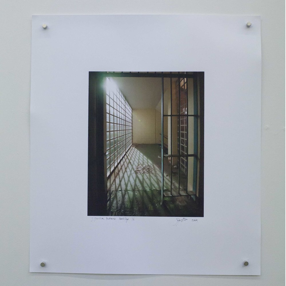 J Division Entrance Pentridge. Rupert Mann Print.jpg
