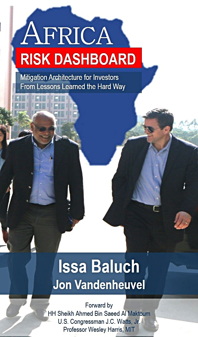 New Book: Africa Risk Dashboard   - By Issa Baluch & Jon Vandenheuvel (www.riskdashboard.org)