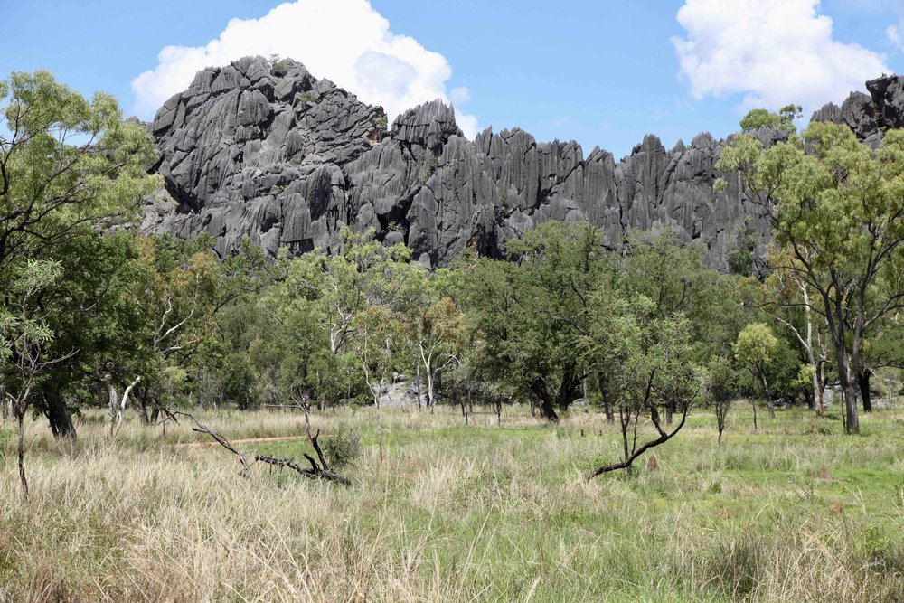Royal Arch cave in Chillagoe-Mungana Caves National Park.