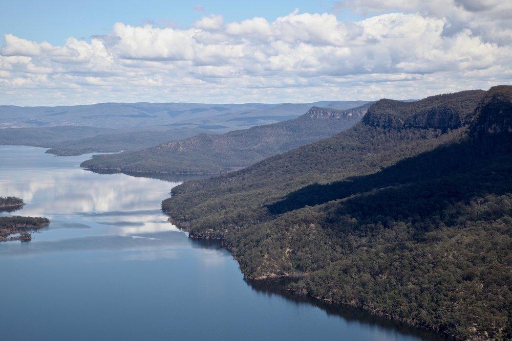 Lake Burragorang was once Burragorang valley.