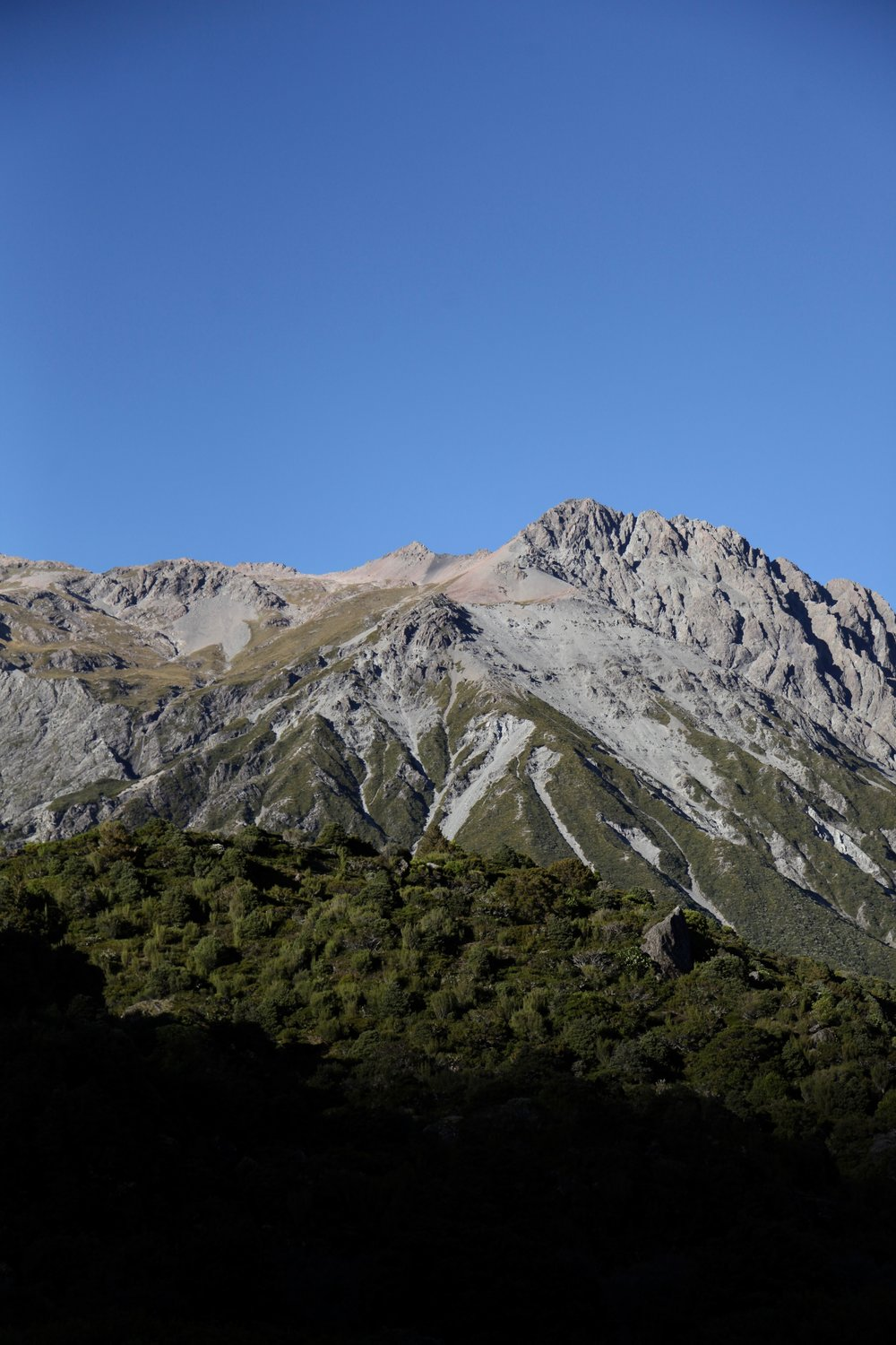 View from Sealy Tarns track.