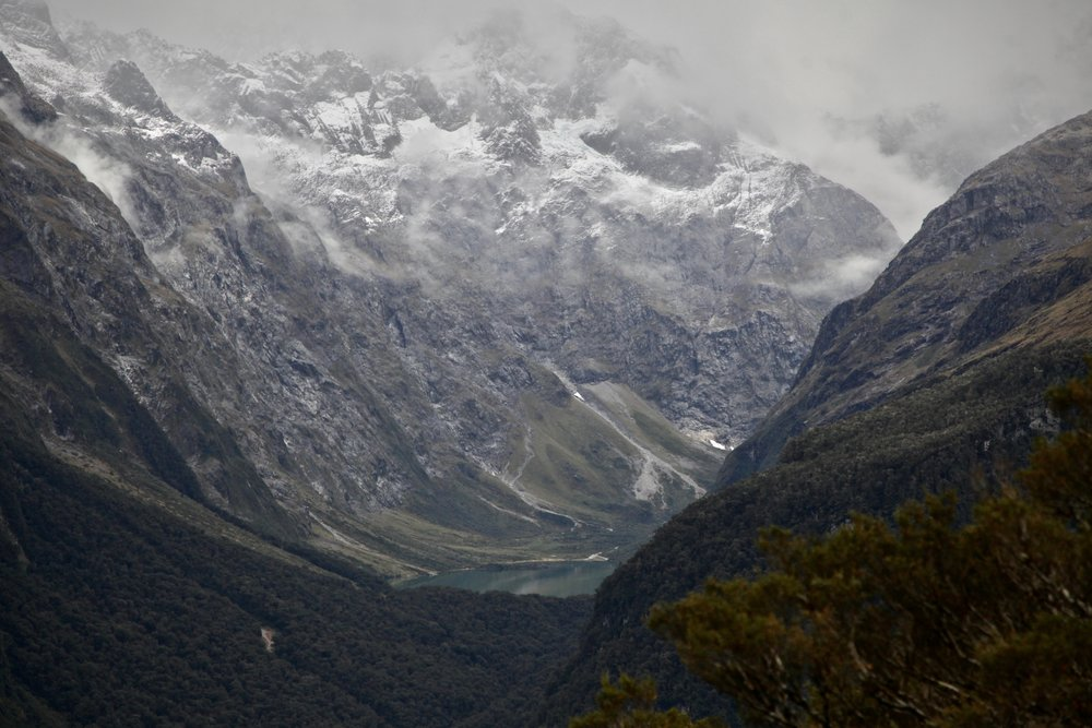A view of Lake Marian from Key Summit in Fiordland National Park.