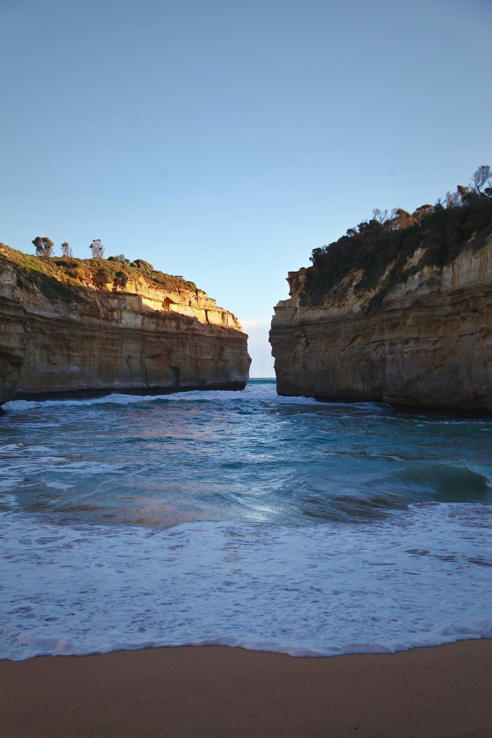 Loch Ard Gorge in Port Campbell National Park on the Great Ocean Road.