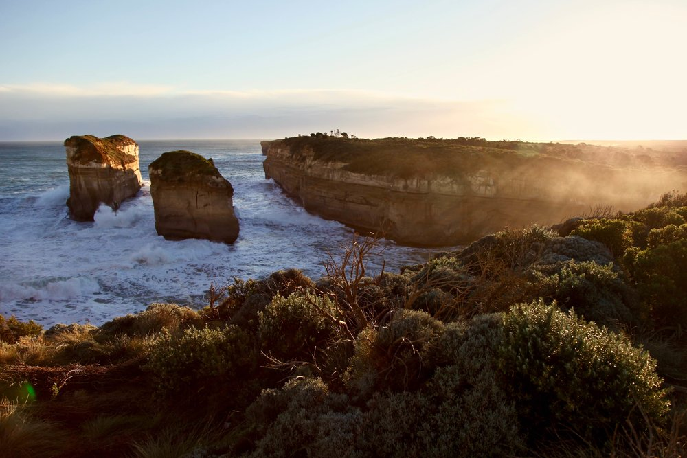 My favourite spot on the Great Ocean Road: Loch Ard Gorge.