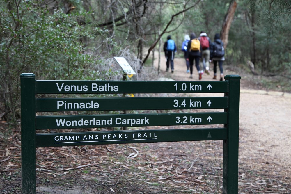 There's plenty of hiking tracks in The Grampians National Park.