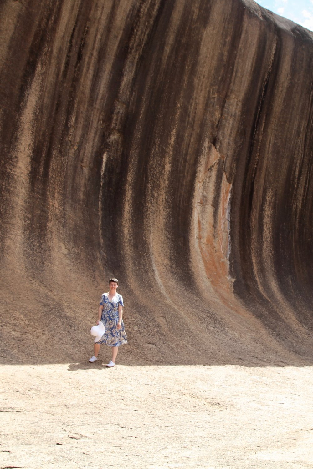 I made it to Wave Rock!