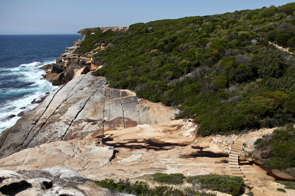 The Coast Track is a 26km walk through Royal National Park south of Sydney.
