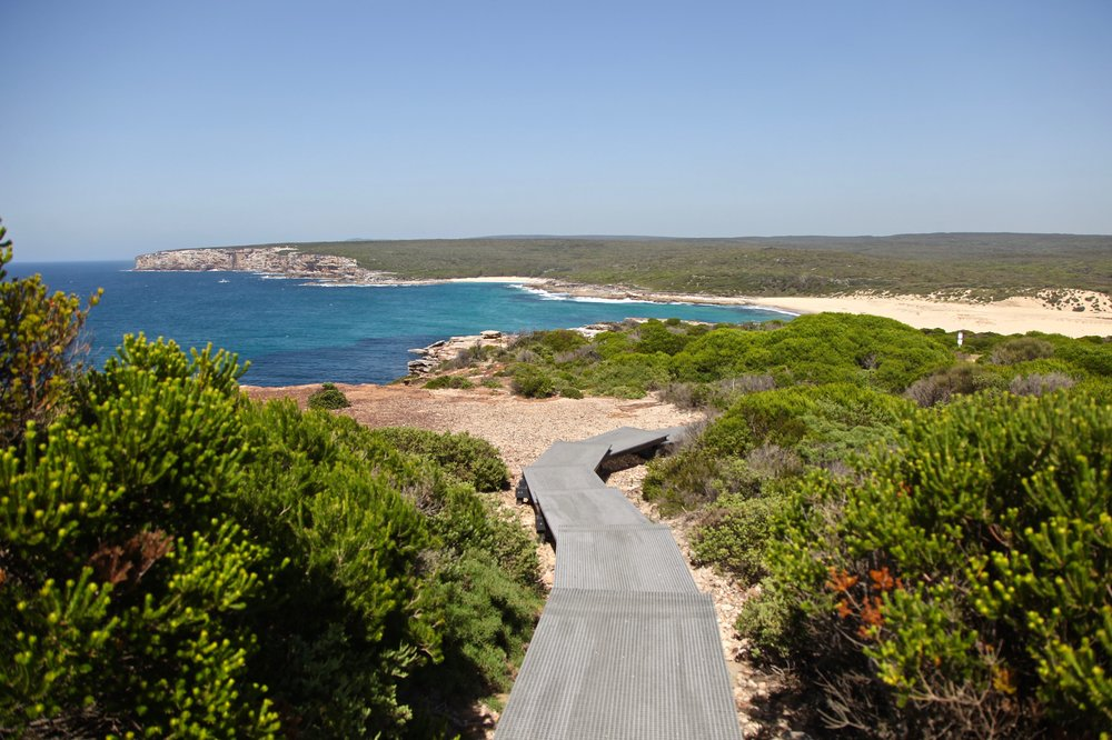 The Coast Track leads down to Marley Beach in Royal National Park, south of Sydney.