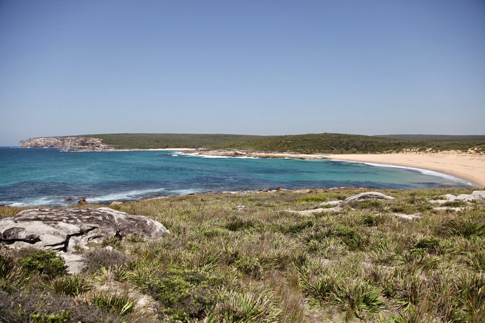 Marley Beach in Royal National Park.