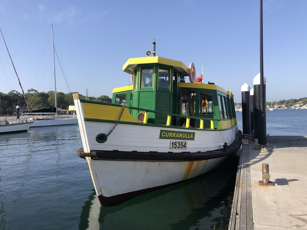 This ferry runs between Cronulla and Bundeena.  Timetable here .