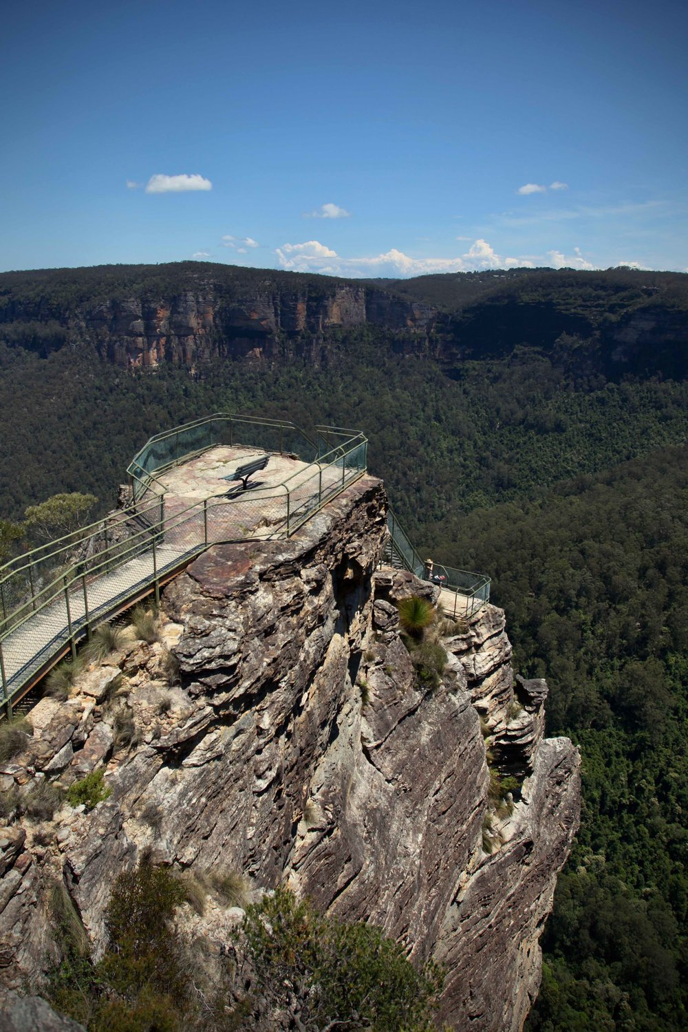 Pulpit Rock at Blackheath in the Blue Mountains National Park