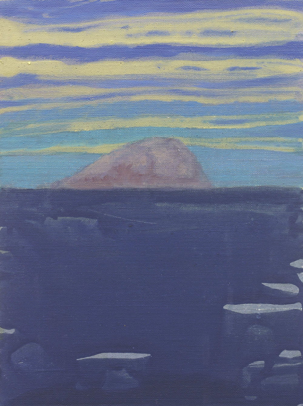 'Horse Island II' Oil on Linen 9½ x 7¼  ins 24 x 18 cms