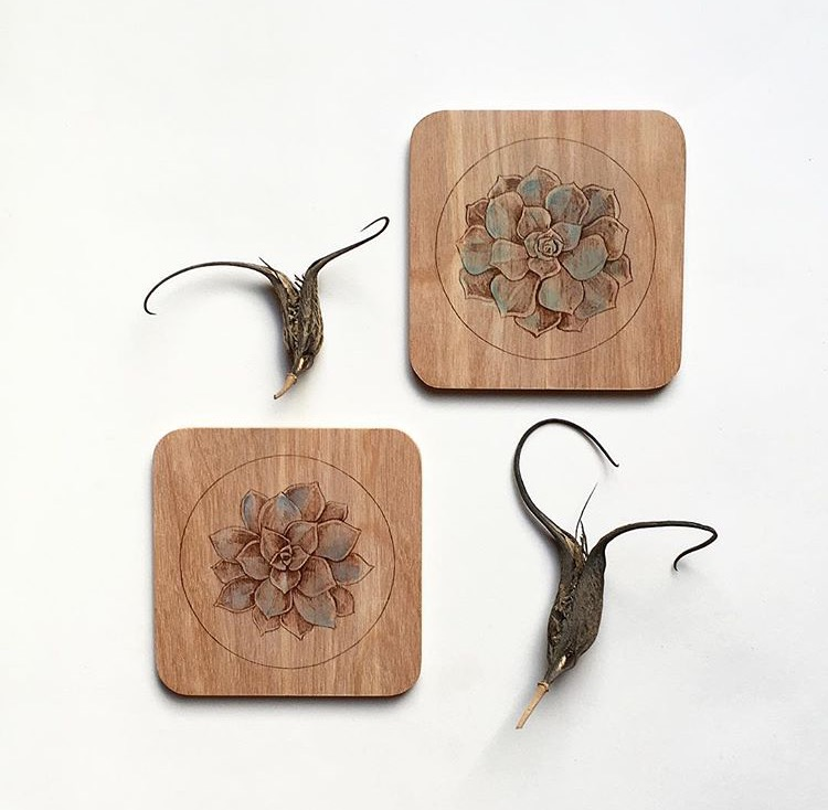 05. Succulent Birch Wood Coasters.jpg