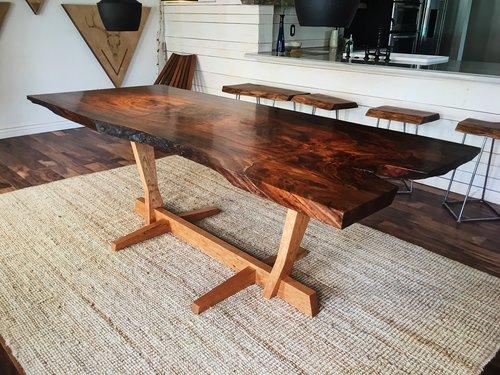 William michael franevsky - NAKASHIMA STYLE TABLE