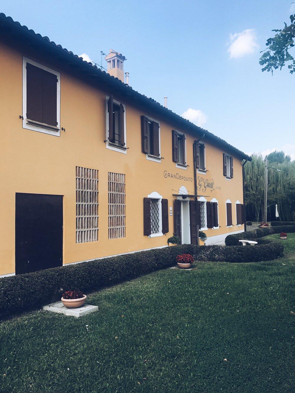 Giuseppe Giusti balsamic factory