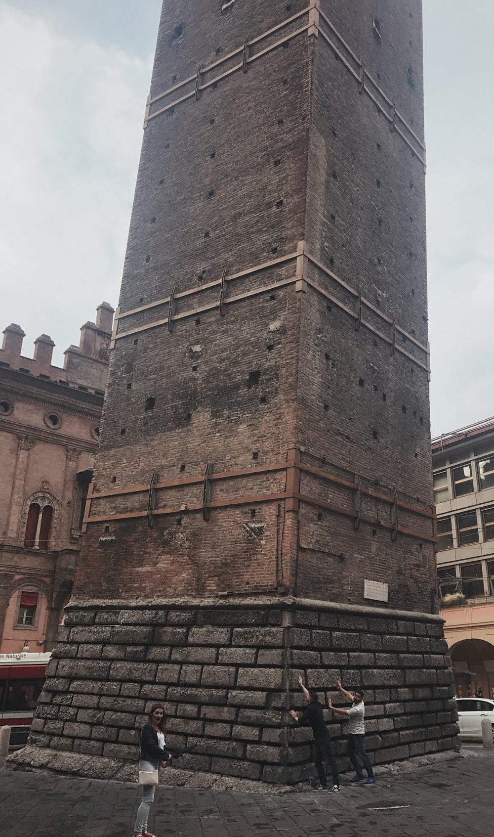 Bologna's answer to the leaning tower - The Two Towers