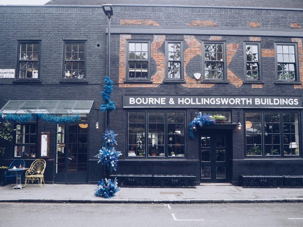 Bourne & Hollingsworth Exterior.