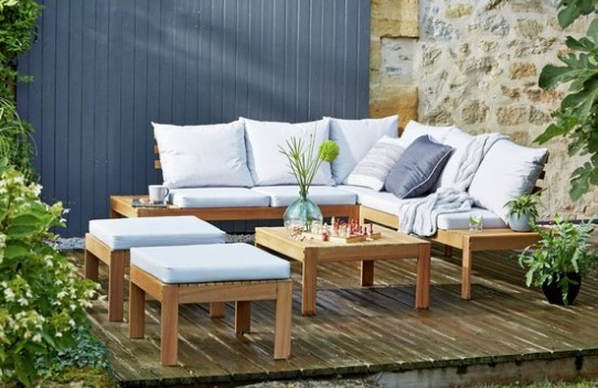 Argos 8 seater corner sofa set