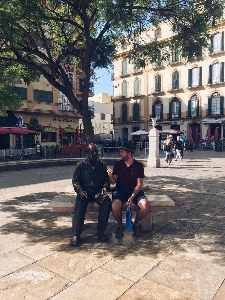 Picasso monument, Malaga.