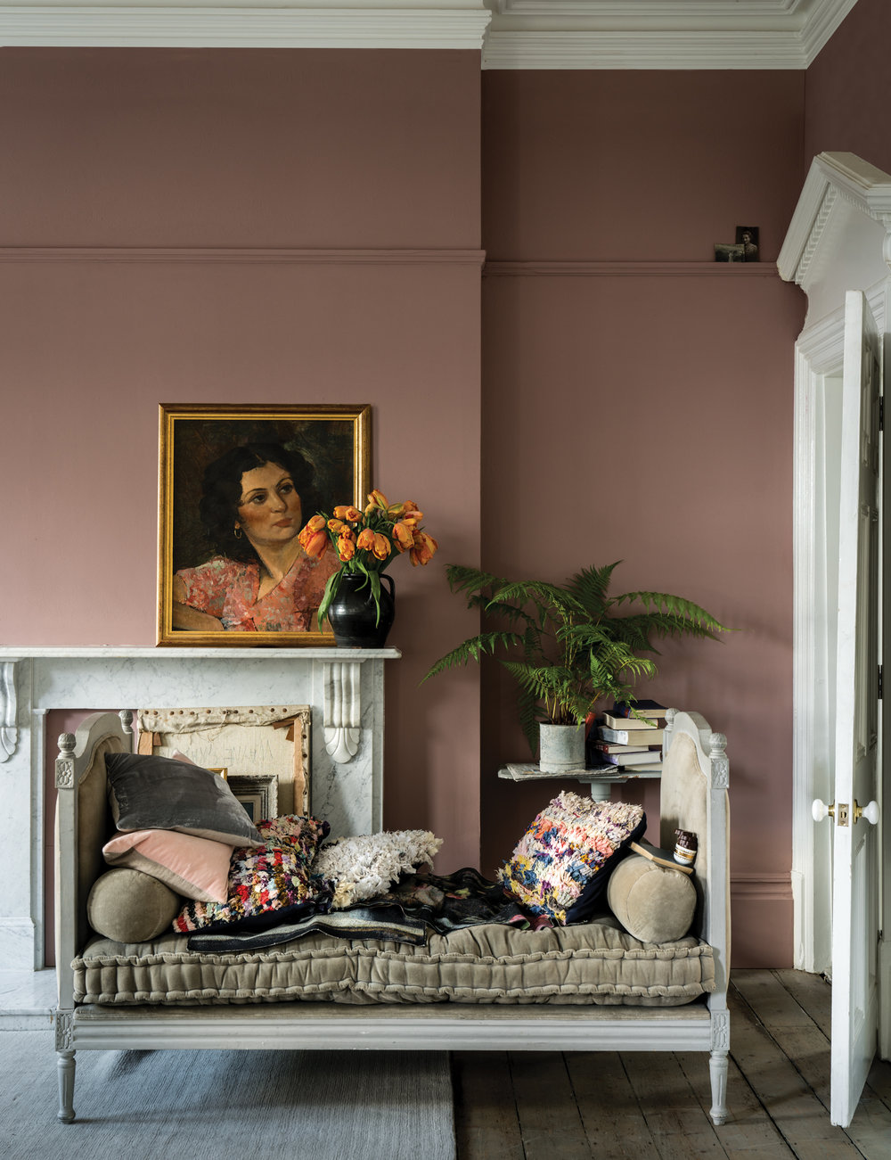 Sulking Room Pink via  Farrow & Ball