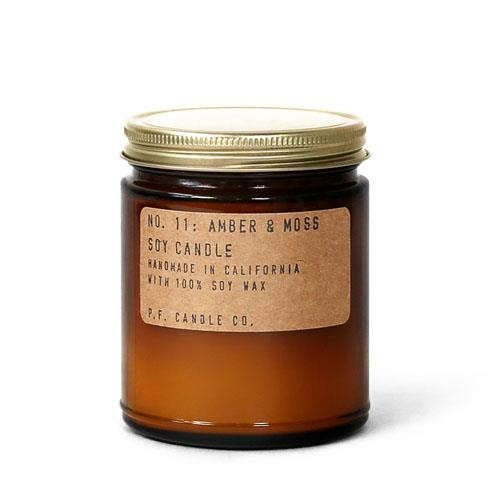 PF Candle Company - Amber & Moss Soy Candle