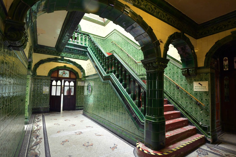 Victoria Baths, Manchester. Photo via INews
